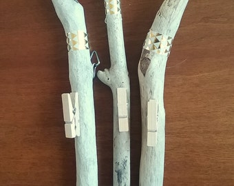 Driftwood Photo Hanger - Single