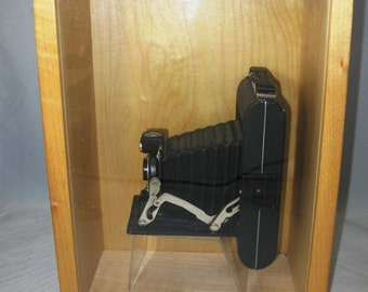 Vintage Kodak Folding Pocket Camera with Bellows mounted in Shadowbox - Artwork