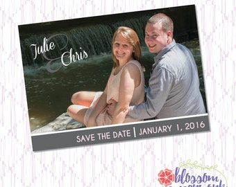 Printable Photo Save the Date