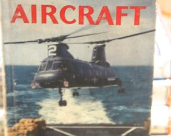 Vintage 1968 Observer's Book of Aircraft- William Green
