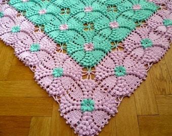 PDF Crochet Pattern-Elegant Blanket from ASmartPattern,Baby Blanket,Bed Spread,Throw-Pattern #20