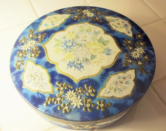 Huntley and Palmers Vintage Blue Tin - Biscuits - Cookies