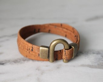 Sienna cork bracelet