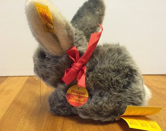 Steiff Rabbit, Easter Plush Bunny Collectible Nursery Decor, Baby Shower Gift