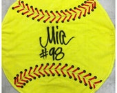 New!!! Softball towels