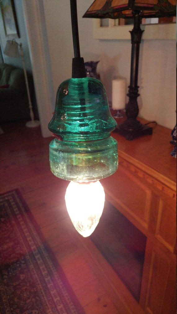Glass Insulator Light