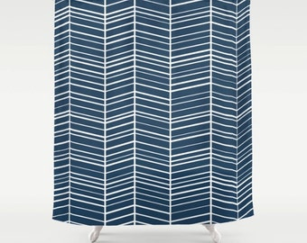Chevron shower curtain, bathroom,bathroom decor, colourful shower curtain,geometric curtain,kids curtain,71x74,bathroom,bathroom accessories