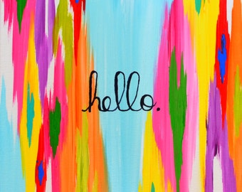 Hello! - Giclee Print/Reproduction