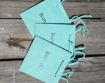 """10- Pack Baby & Co. Gift Bags/5.5""""x3.5""""x6""""/Baby Shower Favor Gift Bags"""