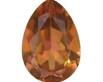 Mystic Stellar Topaz Pear Cut Loose Gemstone 1A Quality 10x7mm TGW 2.45 cts.