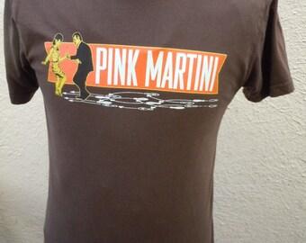 Size S (40) ** Pink Martini Shirt (Single Sided)