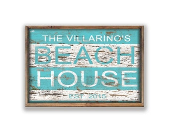 Personalized Beach house decor summer house signs beach signs beach house signs lake signs beach house decor beach decor summer signs beachy