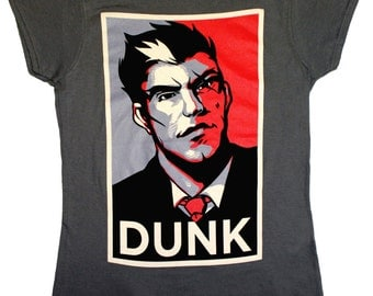 Dunkmaster Ladies fitted T-Shirt