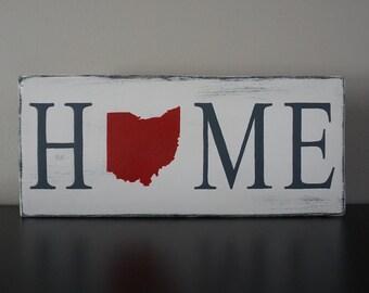 Ohio Home Decor Sign