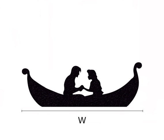 Rapunzel Velvet Wall Decal Tangled Boat Laptop By
