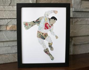 Superman II Print