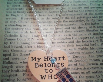 Dr Who necklace