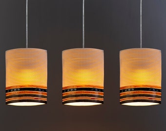 Lighting. Ceiling lights. Hanging lampshades. Modern lights. Kitchen island lighting.