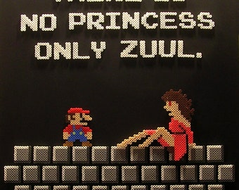 There Is No Dana Only ZUUL (Pixel Bead Art)
