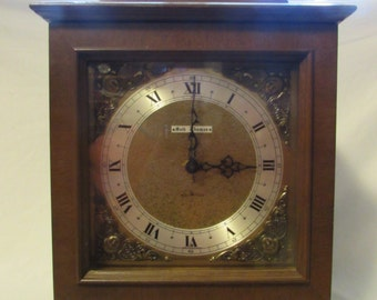 Clock, Seth Thomas Bracket Style Mantle Clock, Legacy Acrotyne Model, 1970's