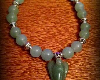 Green Aventurine Angel Ascension bracelet