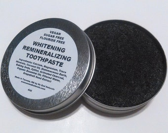 Whitening Remineralizing Activated Charcoal Toothpaste