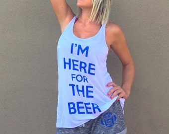 Im Here For The Beer, Drinking Tee