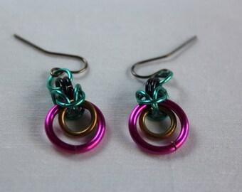 Custom Chainmaille Earrings