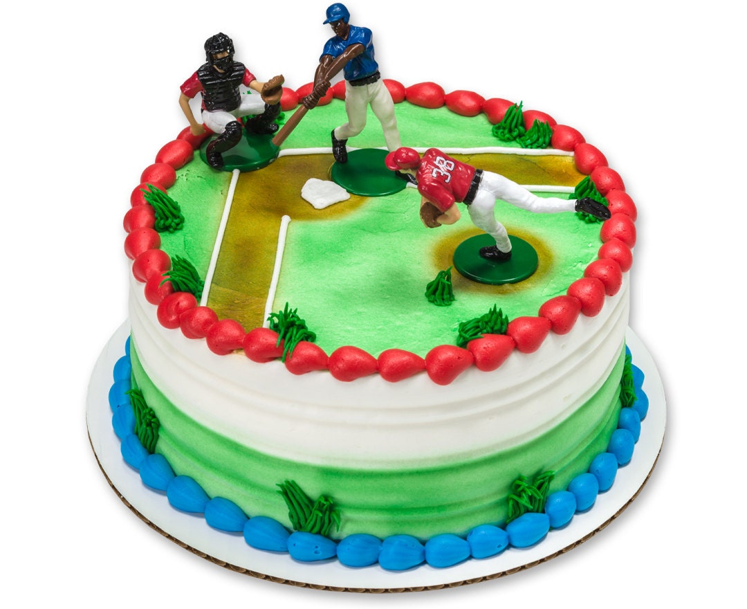 Baseball Cake Topper/ Baseball Team Cake Topper/ Mini Baseball