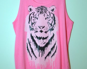 Tiger - Pink Tank