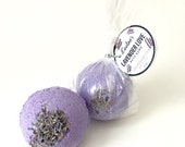 Lavender love bath bombs.