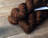 BUCKEYE Silky High Twist Sock GLOW series, sock yarn, silk, superwash merino, fingering weight