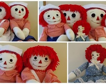 Raggedy Ann and Andy Family