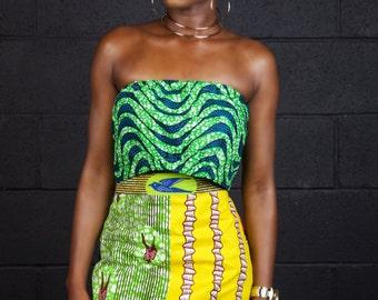 Oyima A-Line Skirt