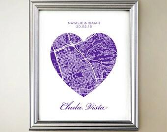 Chula Vista Heart Map