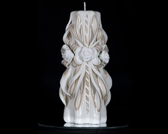 Gift for Her - Decorative candles - Pillar candles - Home decor - Wedding Gift