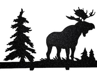 Moose Key Chain Holder