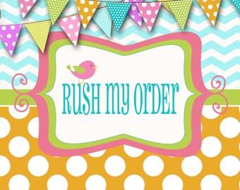Rush order service!