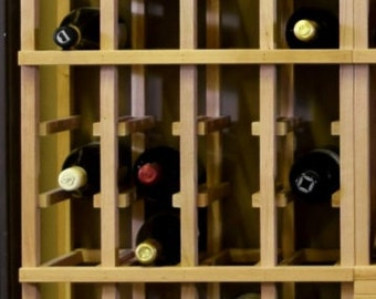 Cherry Wood Wine Rack Racking 4 Bottles wide, 20 Bottles high ( 80 Bottles) Wine Storage