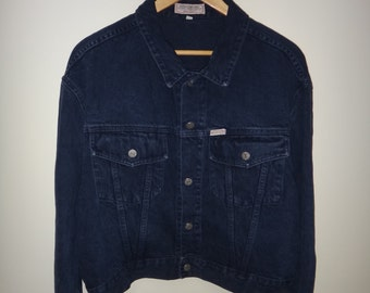 Vintage 80's Guess Designer Georges Marciano Jacket Made In USA