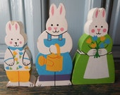 Adorable Easter Bunny Family!