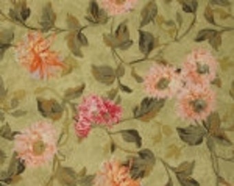 Splendid Hues Fabric Floral Quilt Fabric Out Of Print High Quality Cotton Wilmington