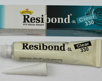 XL 50ML Watch crystal clear sealant Resibond waterproof seal acrylic or mineral