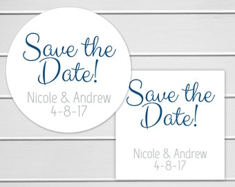 Save The Date Sticker, Wedding Invitiations Sticker, Wedding Stickers, Wedding labels (#136)