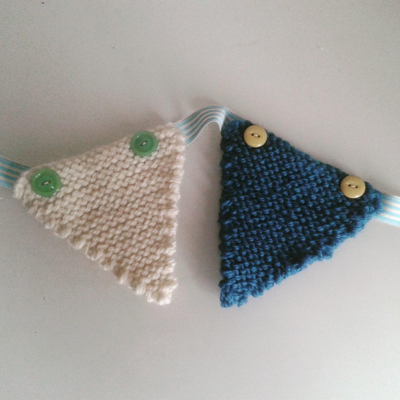Beginner Knitting Kits Canada : Beginner s easy diy bunting knitting kit learn to knit