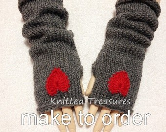 Wool Blend Fingerless Gloves Arm Warmer More Colors To Choose