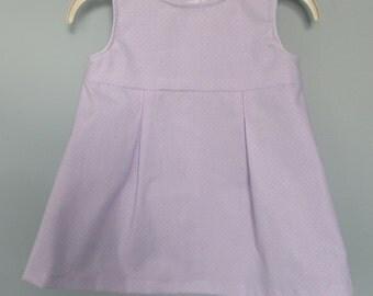 Baby Girl Dress Lavender Purple