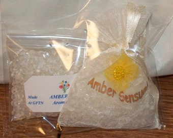 Aromabead Sachets - Made in Vermont - Sensual Amber