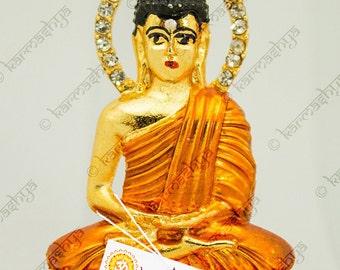 Gautama Buddha Gautham Buddh Car Statue Idol Buddhism Siddartha Study Work Desk CS0069