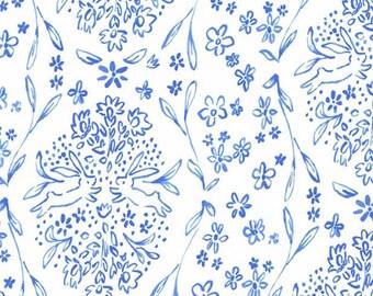 SOMMER by Sarah Jane for Michael Miller Fabrics in Sundborn - Blueberry